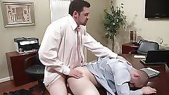 office gay male videos
